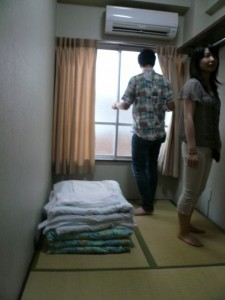 ホステル内部